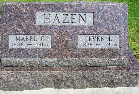 REIGLE HAZEN, MABEL CLARA - Madison County, Iowa | MABEL CLARA REIGLE HAZEN