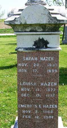 HAZEN, SARAH - Madison County, Iowa | SARAH HAZEN