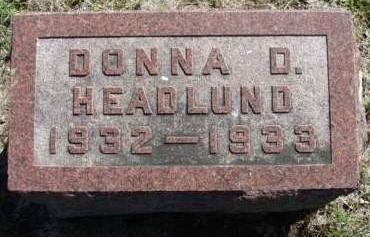HEADLUND, DONNA DELANO - Madison County, Iowa | DONNA DELANO HEADLUND