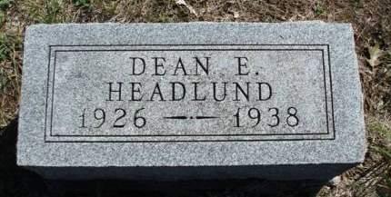 HEADLUND, DEAN ELLIS - Madison County, Iowa | DEAN ELLIS HEADLUND
