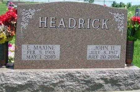 HEADRICK, JOHN HENRY - Madison County, Iowa | JOHN HENRY HEADRICK
