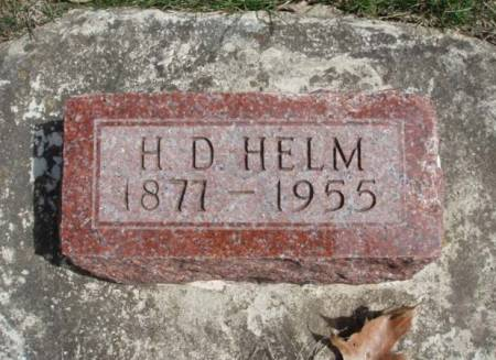 HELM, HARRY DAVID - Madison County, Iowa | HARRY DAVID HELM