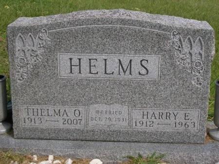 HELMS, HARRY E. - Madison County, Iowa   HARRY E. HELMS