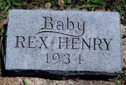 HENRY, REX  (INFANT) - Madison County, Iowa | REX  (INFANT) HENRY