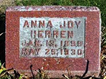 HERREN, ANNA JOY - Madison County, Iowa   ANNA JOY HERREN