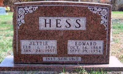HESS, EDWARD - Madison County, Iowa | EDWARD HESS