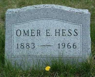 HESS, OMER EVERETT - Madison County, Iowa | OMER EVERETT HESS