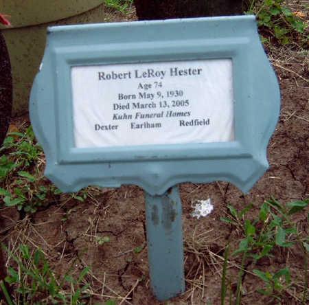 HESTER, ROBERT LEROY - Madison County, Iowa | ROBERT LEROY HESTER