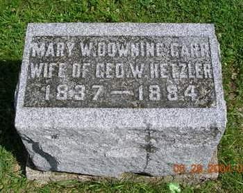 HETZLER, MARY W. - Madison County, Iowa | MARY W. HETZLER
