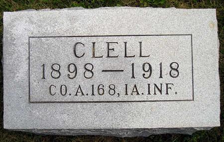 HIATT, CLELL - Madison County, Iowa   CLELL HIATT
