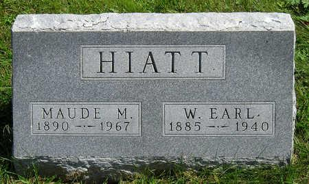 HIATT, MAUDE M. - Madison County, Iowa   MAUDE M. HIATT