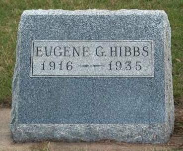 HIBBS, EUGENE GRANT - Madison County, Iowa | EUGENE GRANT HIBBS