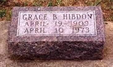 HIBDON, GRACE BELLE - Madison County, Iowa | GRACE BELLE HIBDON