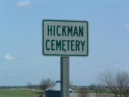 HICKMAN, CEMETERY - Madison County, Iowa   CEMETERY HICKMAN
