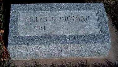 HICKMAN, HELEN E - Madison County, Iowa | HELEN E HICKMAN
