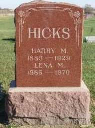 HICKS, HARRY MARTIN - Madison County, Iowa | HARRY MARTIN HICKS