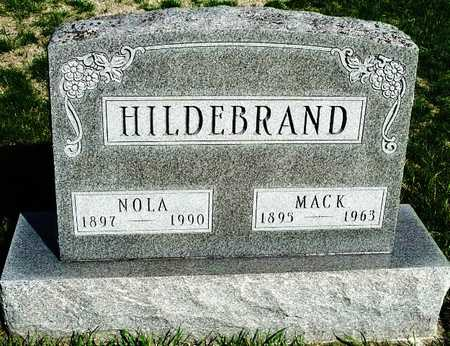 HILDEBRAND, MACK VINTON - Madison County, Iowa   MACK VINTON HILDEBRAND