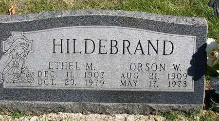 HILDEBRAND, ORSON W. - Madison County, Iowa | ORSON W. HILDEBRAND