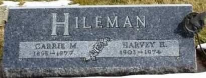 HILEMAN, HARVEY H. - Madison County, Iowa | HARVEY H. HILEMAN