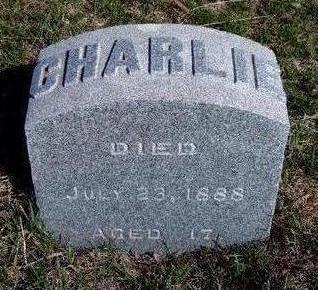 HILL, CHARLIE - Madison County, Iowa | CHARLIE HILL