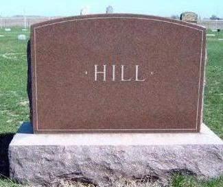 HILL, FAMILY STONE - Madison County, Iowa | FAMILY STONE HILL