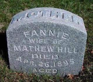 HILL, FANNIE - Madison County, Iowa | FANNIE HILL