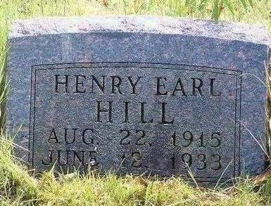 HILL, HENRY EARL - Madison County, Iowa | HENRY EARL HILL