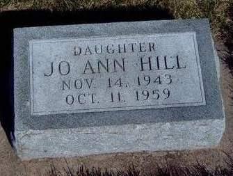 HILL, JOANN - Madison County, Iowa   JOANN HILL