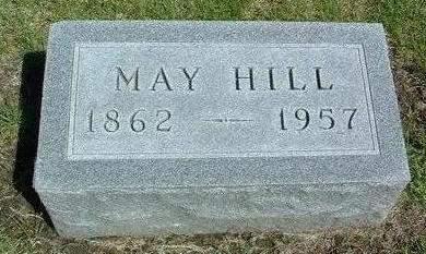 HILL, MAY - Madison County, Iowa   MAY HILL