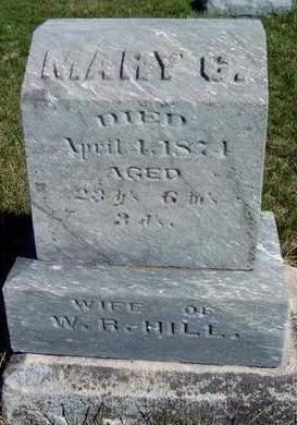 HILL, MARY COATS - Madison County, Iowa | MARY COATS HILL