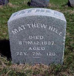 HILL, MATTHEW - Madison County, Iowa | MATTHEW HILL