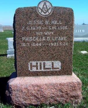 HILL, PRISCILLA D. - Madison County, Iowa | PRISCILLA D. HILL