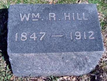 HILL, WILLIAM R. - Madison County, Iowa | WILLIAM R. HILL