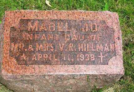 HILLMAN, MABEL JO - Madison County, Iowa | MABEL JO HILLMAN