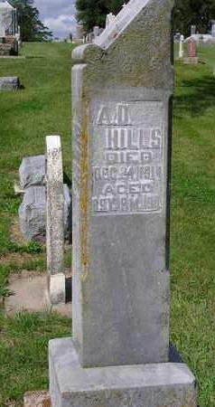 HILLS, ABEL D. - Madison County, Iowa | ABEL D. HILLS