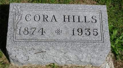 HILLS, CORA E. - Madison County, Iowa | CORA E. HILLS