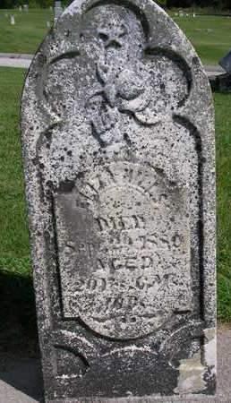 HILLS, ELIZA D. - Madison County, Iowa   ELIZA D. HILLS