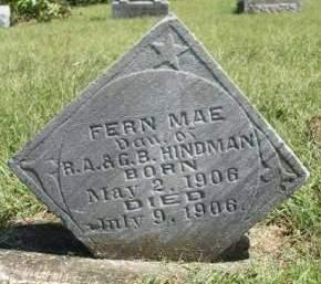 HINDMAN, FERN MAE - Madison County, Iowa | FERN MAE HINDMAN