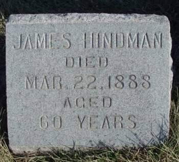 HINDMAN, JAMES - Madison County, Iowa   JAMES HINDMAN