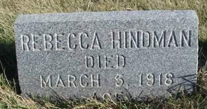 HINDMAN, REBECCA - Madison County, Iowa | REBECCA HINDMAN