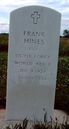HINES, FRANK KING - Madison County, Iowa   FRANK KING HINES