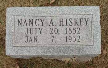 HISKEY, NANCY A. - Madison County, Iowa | NANCY A. HISKEY