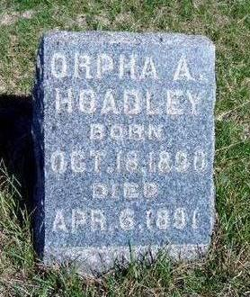 HOADLEY, ORPHA A - Madison County, Iowa | ORPHA A HOADLEY
