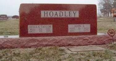 HOADLEY, JOHN ERNEST - Madison County, Iowa | JOHN ERNEST HOADLEY
