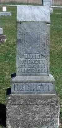 HOCKETT, DAVID - Madison County, Iowa   DAVID HOCKETT