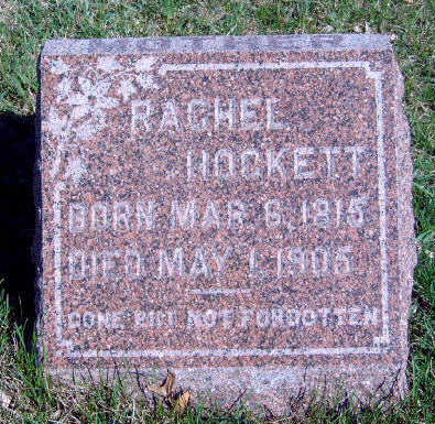 HOCKETT, RACHEL - Madison County, Iowa | RACHEL HOCKETT