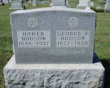HODSON, GEORGE ALLEN - Madison County, Iowa | GEORGE ALLEN HODSON