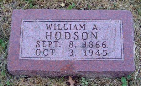 HODSON, WILLIAM ALLEN - Madison County, Iowa | WILLIAM ALLEN HODSON