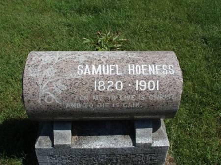 HOENESS, SAMUEL - Madison County, Iowa   SAMUEL HOENESS