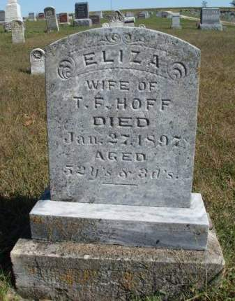 HOFF, ELIZA - Madison County, Iowa | ELIZA HOFF